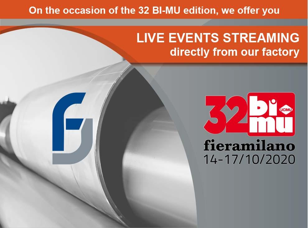 BIMU Boldrini live events